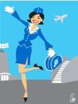 stewardess-klm